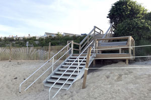 Dennis Corporation Beach Stairs 8
