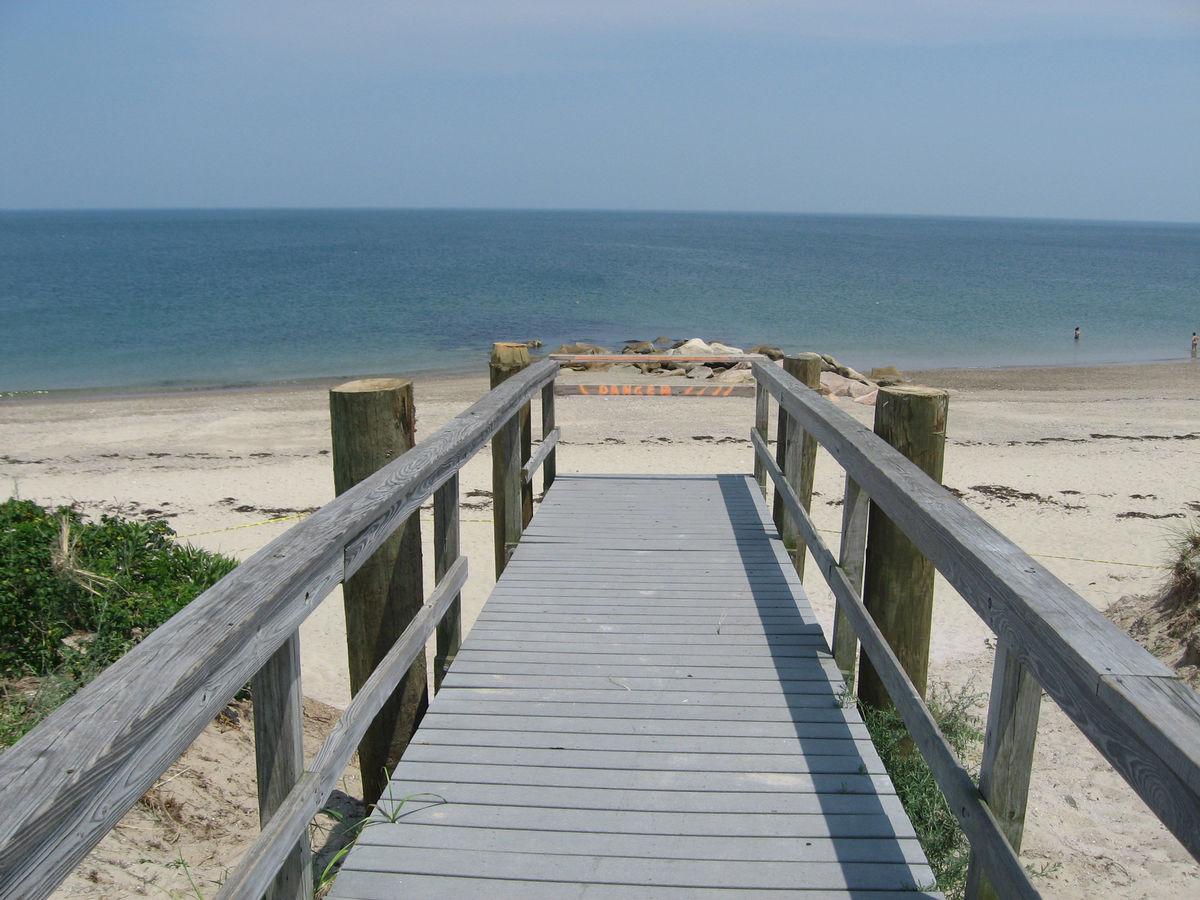 Town Neck Beach Access Stairs 1