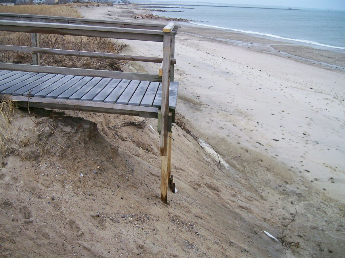 Town Neck Beach Access Stairs 3 ...