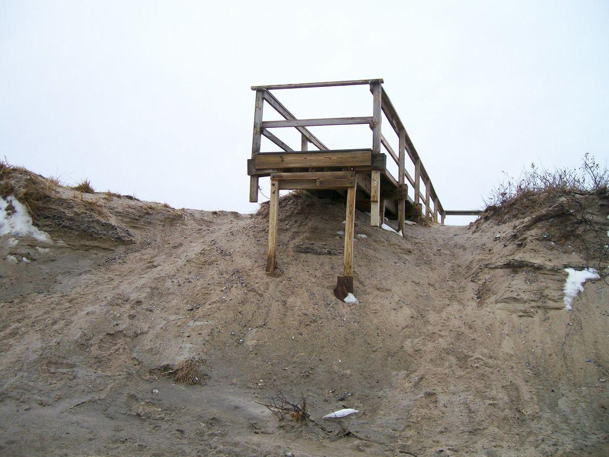 Town Neck Beach Access Stairs 4 ...