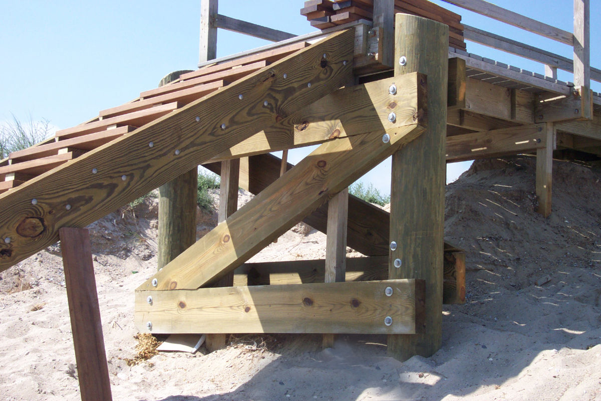 Town Neck Beach Access Stairs 6