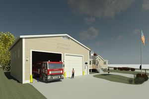 Town Of Scituate Fire Station No4 3